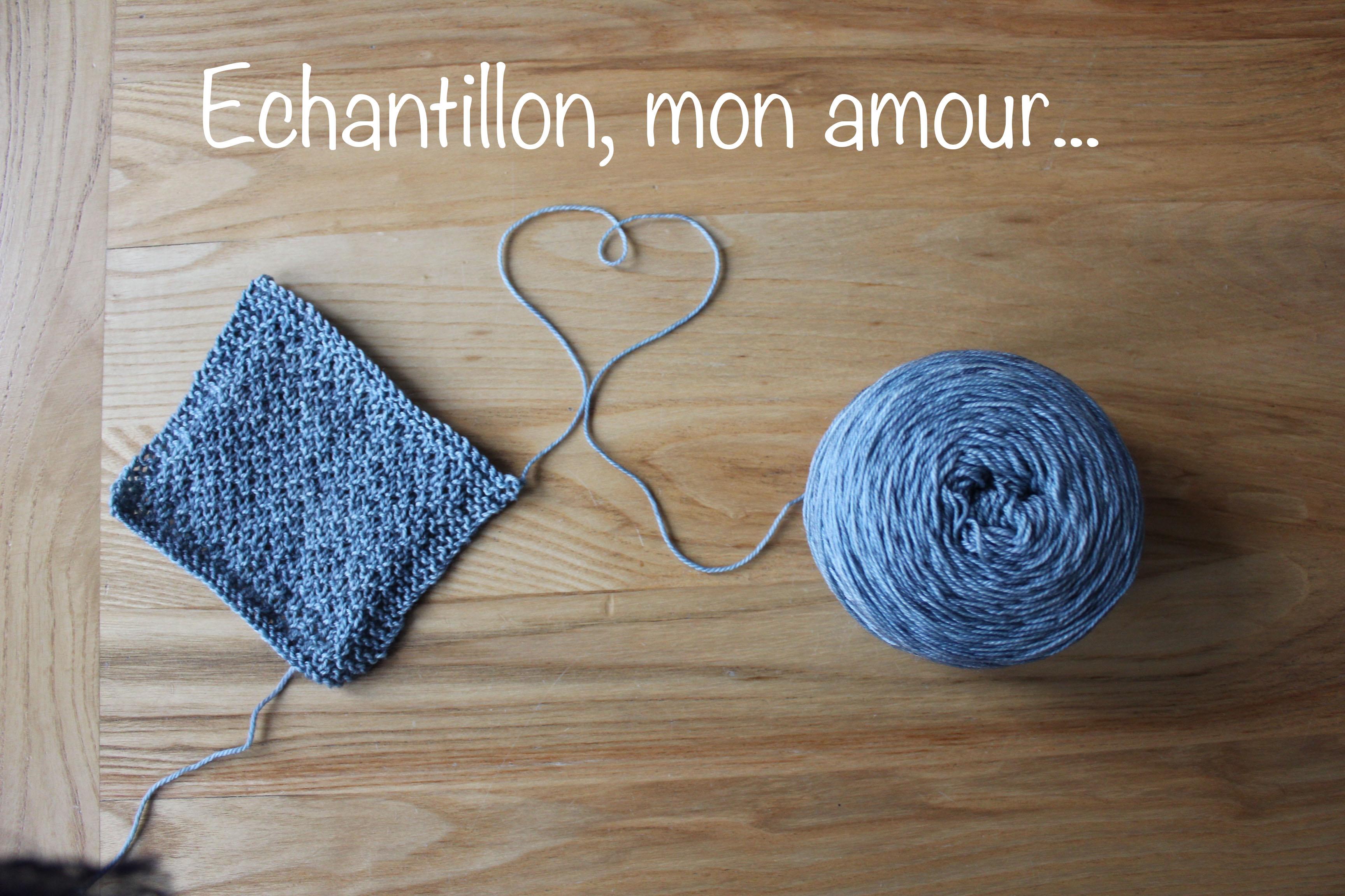 13f5de070ce5f Importance de l échantillon - Comment et pourquoi le tricoter   - Lise  Tailor
