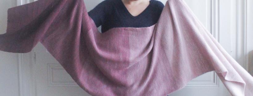 Ombré wrap - Purl soho - Blog tricot