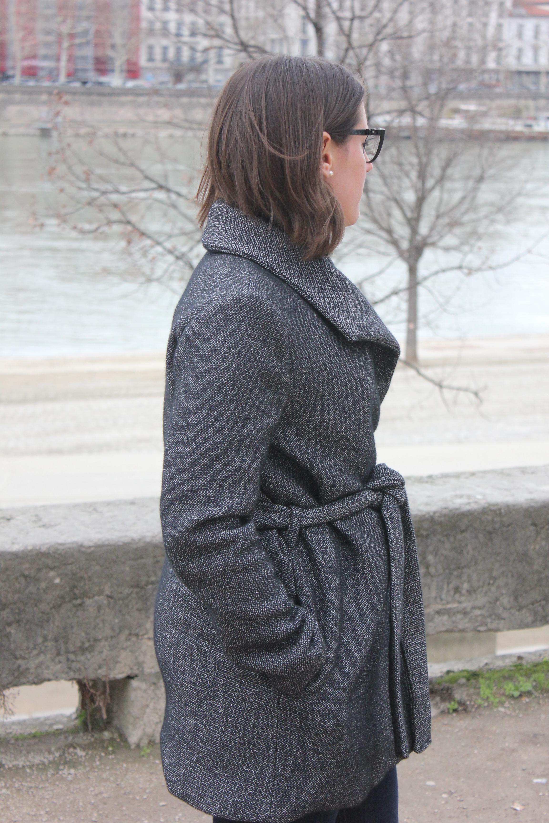 Manteau Nadia - Coralie Bijasson - Blog couture