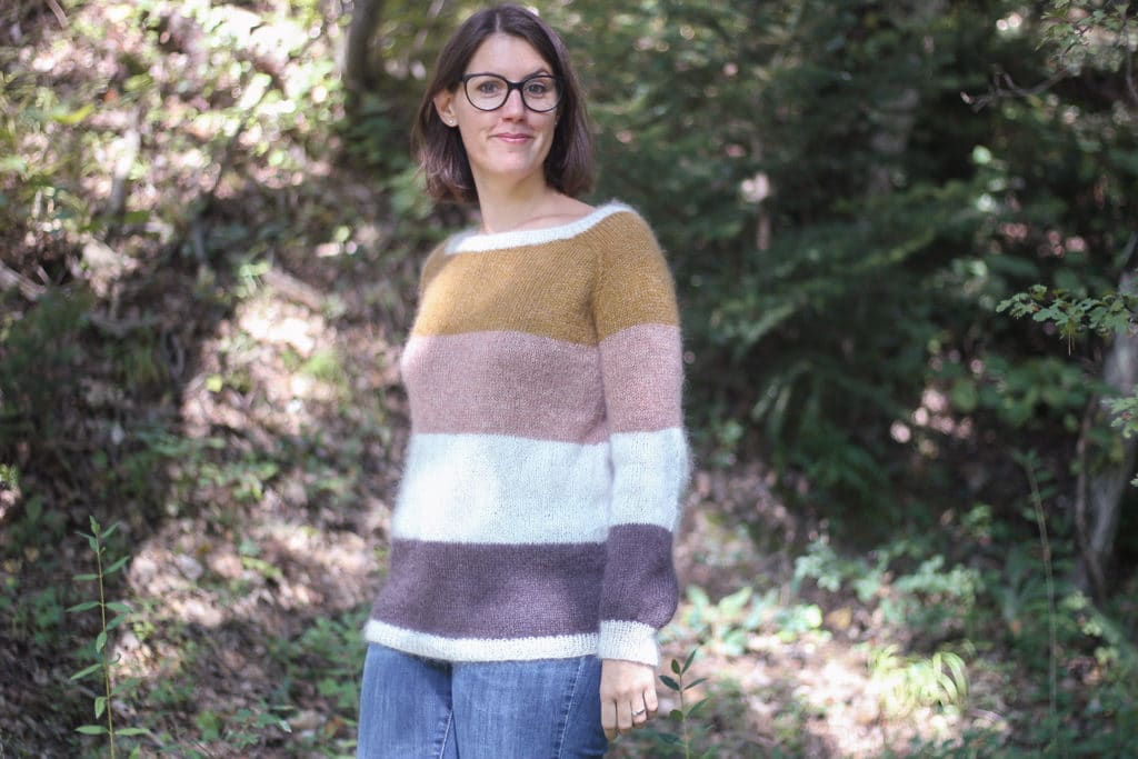 Pull Imagine - Atelier Emilie - Blog tricot
