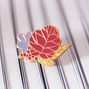 Pin's Lise Tailor - Falling flower