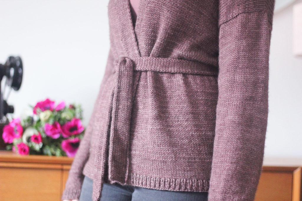 Gilet Reverie - Atelier Emilie - Blog tricot
