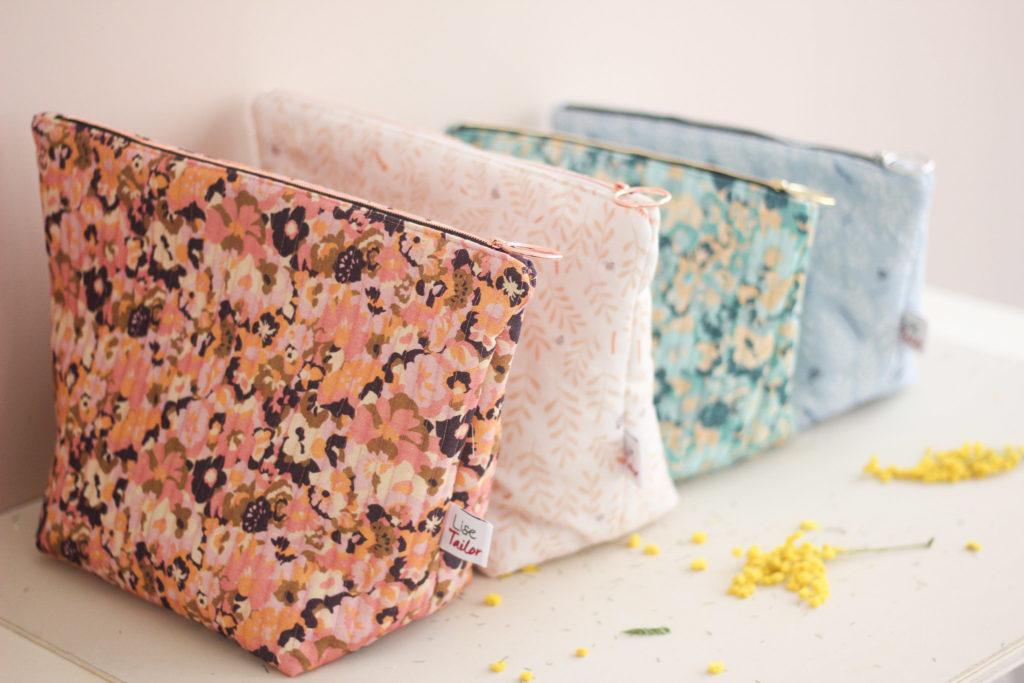Kit de couture - Pochette zippée - Lise Tailor