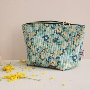 Kit de couture - Pochette zippée - sac à projet - In the green meadow - Lise Tailor