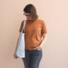 Kit de couture - Totebag Busy bee bleu - Lise Tailor
