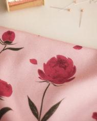 tissu-viscose-happy-peony-rose-lise-tailor – 2