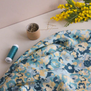 Tissu viscose plumetis - In the green meadow - Lise Tailor